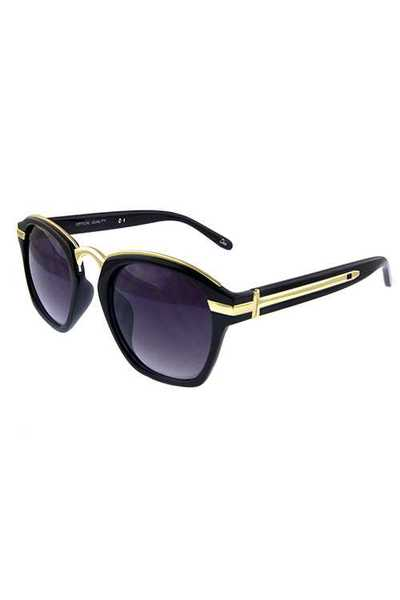 Womens blended urban square style sunglasses