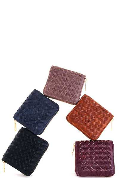 Fashion Cute Woven Wallet
