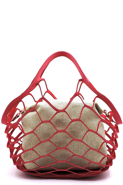 Fashion Mesh 2-in-1 Tote