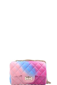 DESIGNER CUTE TENDER RAINBOW JELLY CROSSBODY BAG
