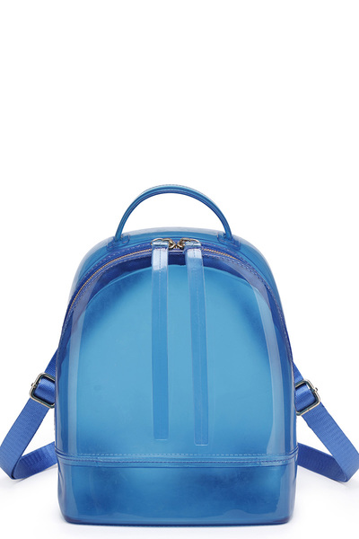 Fashion Convertible Jelly Candy Backpack