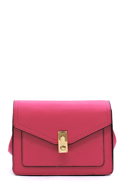 Fashion Turn Lock Envelope Crossbody Bag Satchel