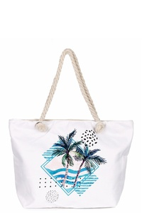 Summer Canvas Tote Bag