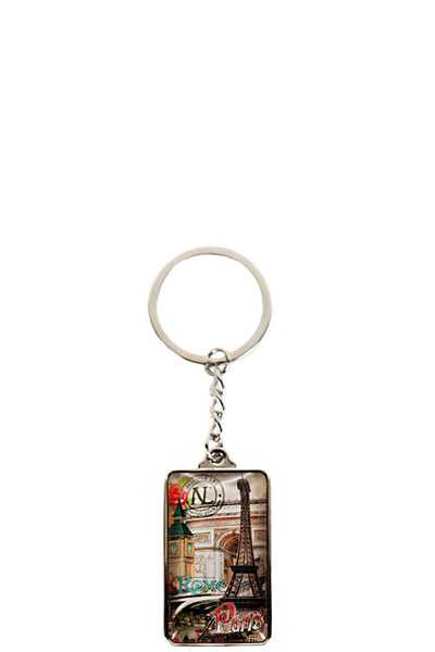 Nicole Lee FASHION PRINT KEYCHAIN