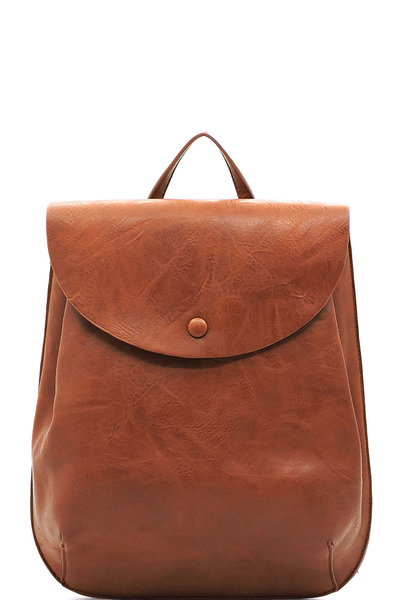 Fashion Flapover Convertible Backpack