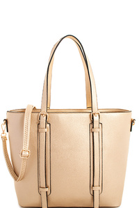 3in1 Designer Stylish Chic Satchel with Long Strap