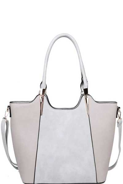 DESIGNER STYLISH MODERN SATCHEL WITH LONG STRAP