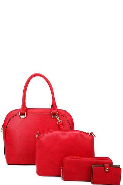 4IN1 CHIC MODERN SATCHEL WITH LONG STRAP