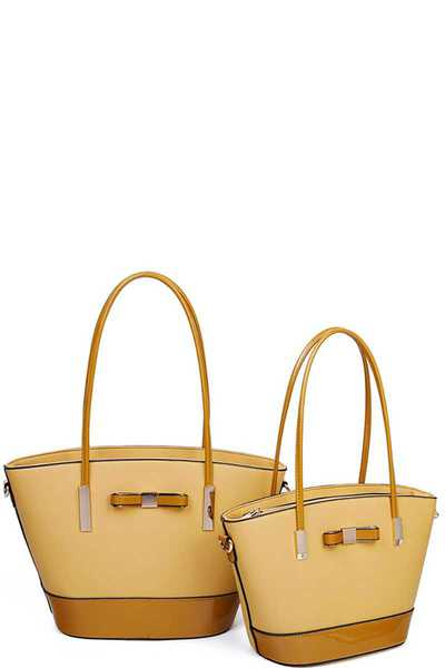 2IN1 FASHION STYLISH SHOPPER SET
