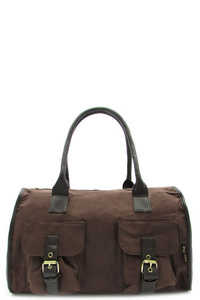 CANVAS TOP HANDLE BAG
