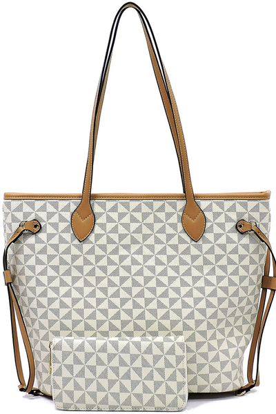 Monogrammed 2-in-1 Tote