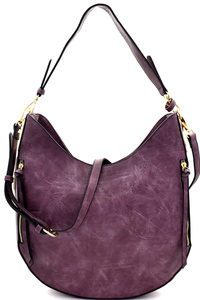 Hardware Accent Multi-pocket 2-way Hobo