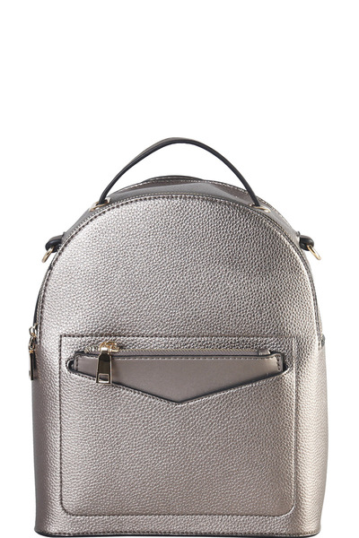 Hardware Accent Fashion Backpack