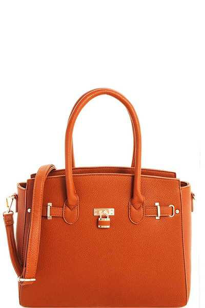 3in1 Modern Chic Satchel Set with Long Strap