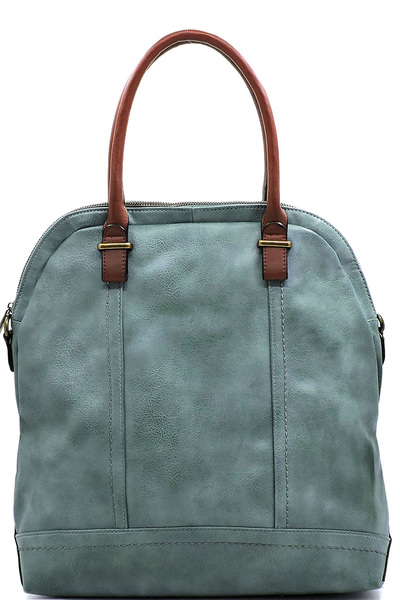 Spray Printed 2-way Satchel