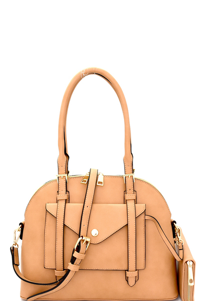 3 in 1 Classy Dome Satchel SET