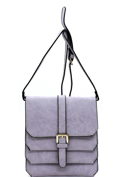 Fashion Multi Compartment Crossbody Bag