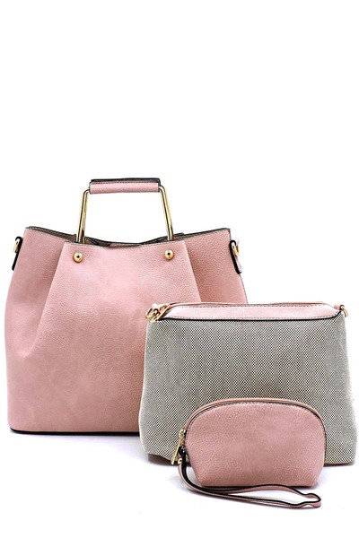 Fashion Top Handle 3-in-1 Satchel