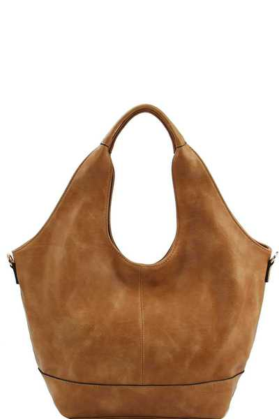 STYLISH MODERN CHIC HOBO BAG WITH LONG STRAP