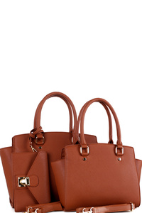 Classy 3 IN 1 Wing Twin Satchel Value SET