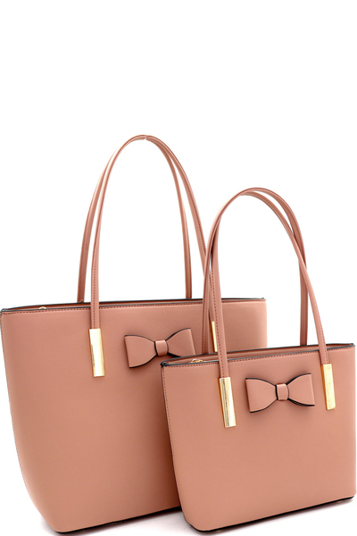 Lovely Box Accent 2 in 1 Tote SET