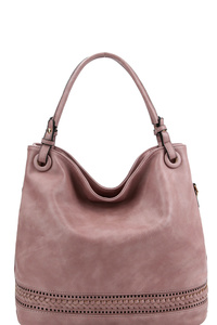 Braid Accent Laser-Cut 2-Way Hobo