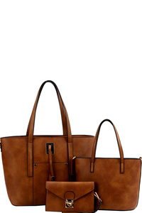 String Accent 3 in 1 Classy Tote Value SET