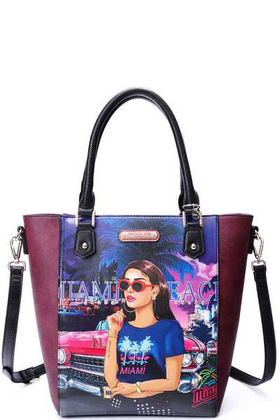 Nicole Lee MIAMI STREET CHIC TOTE BAG