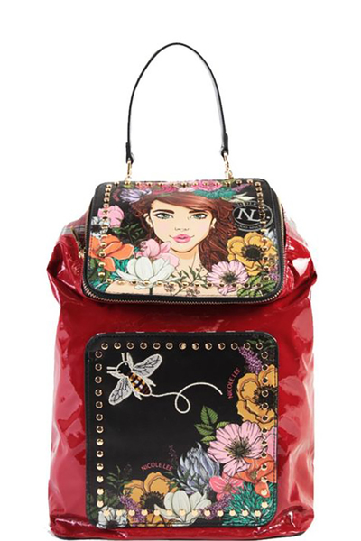 NICOLE LEE FLORAL BACKPACK