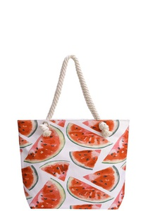 WATERMELON CANVAS TOTE BAG