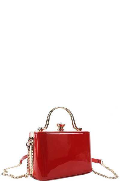 FASHION CUTE GLOSSY CROSSBODY BAG