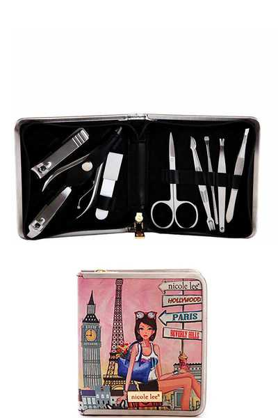 Nicole Lee EXCLUSIVE NL MANICURE AND GROOMING SET