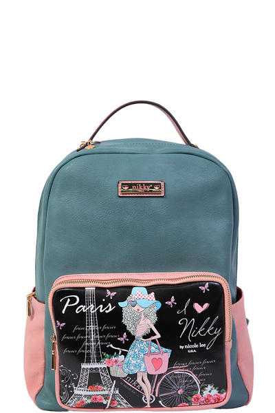 NICOLE LEE NIKKY SIGNE BACKPACK