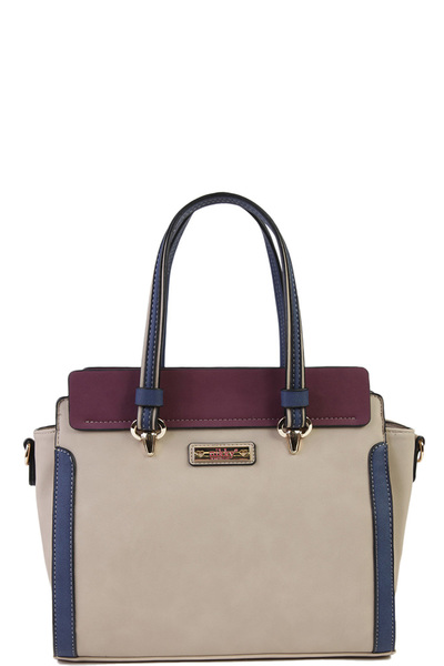 NICOLE LEE NIKKY RAVENNA SATCHEL BAG