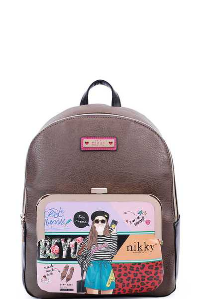 Nikky by Nicole Lee LOVE ME TENDER BACKPACK