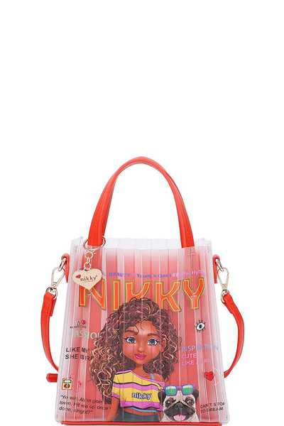 Nikky by Nicole Lee 2IN1 OLIVIA JELLY MINI BAG