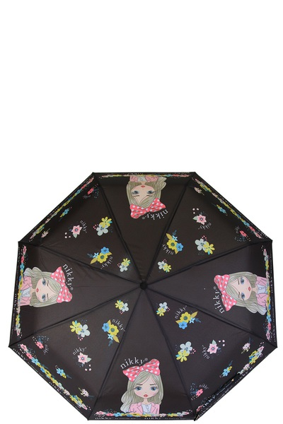 NICOLE LEE NIKKY ALISH EXCLUSIVE PRINT POCKET UMBRELLA
