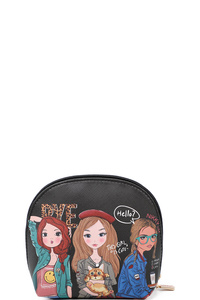 NICOLE LEE ZIP AROUND POUCH
