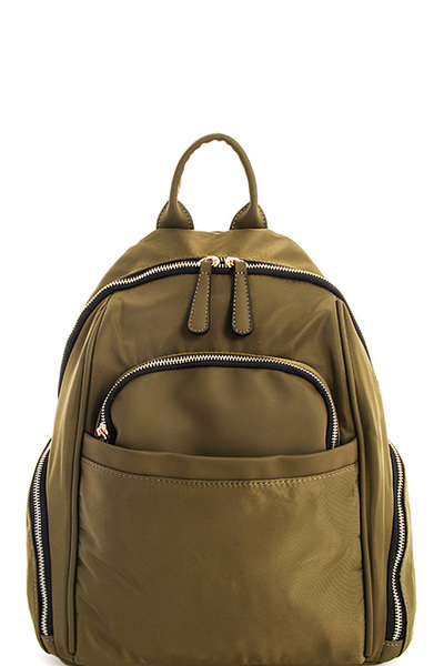 Modern Canvas Princess Backpack