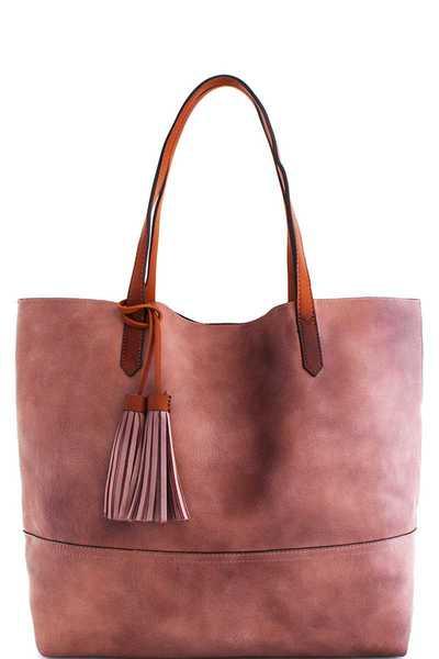 Street Level 2in1 Modern Stylish Satchel Bag