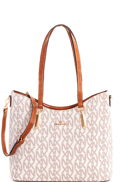 2in1 Alba NX Stylish Satchel with Long Strap