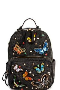 Princess Butterfly Trendy Backpack