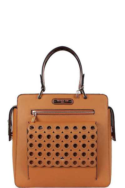 Nicole Lee Ring Studded Tote Bag