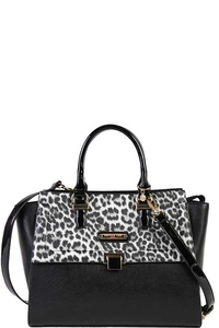 Nicole Lee ANIMAL PRINT SATCHEL BAG