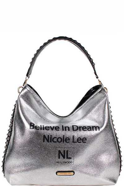Nicole Lee Believe in Dream Nicole Lee Hobo Bag