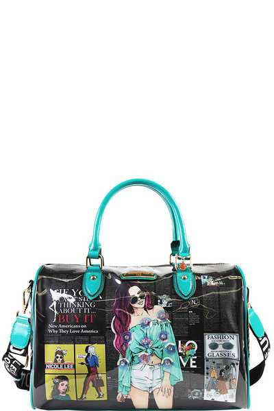 Nicole Lee URBAN CHIC BOSTON BAG