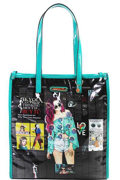 Nicole Lee URBAN CHIC TOTE BAG