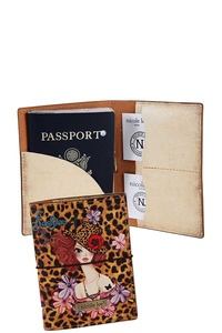 Nicole Lee FASHION DURABLE PASSPORT WALLET CASE