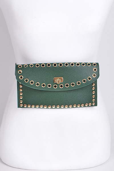 Chain Hole Fanny Pack