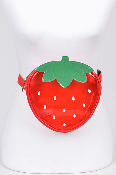 Strawberry Adjustable Fanny Pack